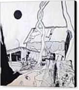Barn 4 Canvas Print by Rod Ismay