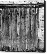 Barn Door Canvas Print by Georgia Fowler