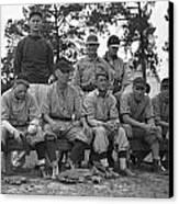 Baseball Team, 1938 Canvas Print by Granger