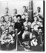 Baseball Team, C1898 Canvas Print by Granger