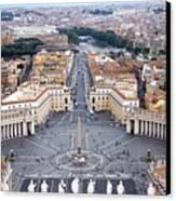 Basilica Di San Pietro Canvas Print by Deborah Lynn Guber