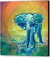 Bathe Me In Thy Light Canvas Print by Ashleigh Dyan Bayer