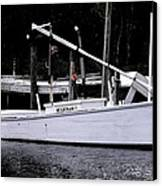 Bay Clammer Canvas Print by Kevin Brant