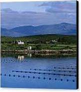 Beara, Co Cork, Ireland Mussel Farm Canvas Print by The Irish Image Collection
