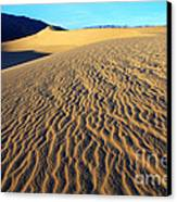 Beauty Of Death Valley Canvas Print by Bob Christopher