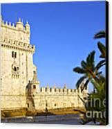 Belem Tower Canvas Print by Carlos Caetano