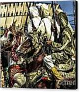 Berber Soldiers Canvas Print by Chuck Kuhn