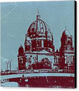 Berlin Cathedral Canvas Print by Naxart Studio