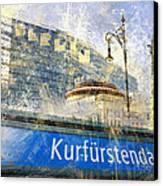 Berlin Composing Canvas Print by Melanie Viola