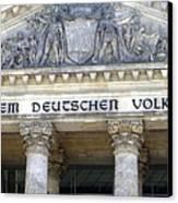 Berliner Reichstag Canvas Print by Shyish!