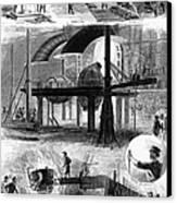 Bessemer Steel, 1876 Canvas Print by Granger