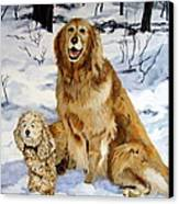 Best Friends Canvas Print by Sandra Chase