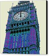 Big Blue Ben Canvas Print by Beth Saffer