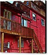 Big Red Canvas Print by MJ Olsen