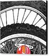 Big Wheels Keep On Turning Canvas Print by Jerry Cordeiro