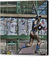 Billy Williams  Canvas Print by David Bearden
