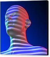 Biometric Scanning Canvas Print by Pasieka