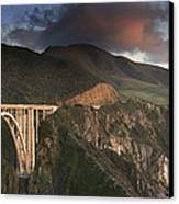 Bixby Bridge Sunset Canvas Print by Joe  Palermo