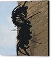 Black Widow Spider Art Canvas Print by Karon Melillo DeVega