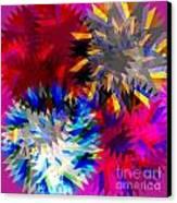 Blade In Pink Canvas Print by Atiketta Sangasaeng