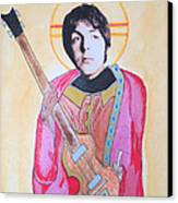 Blessed Paul Canvas Print by Philip Atkinson