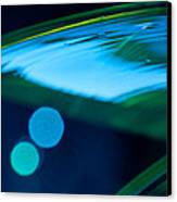 Blue And Green Abstract Canvas Print by Dana Kern