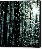 Blue Burns The Twilight Canvas Print by Rebecca Sherman