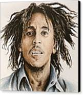Bob Marley Canvas Print by Andrew Read