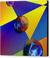 Bocce Canvas Print by Anthony Caruso