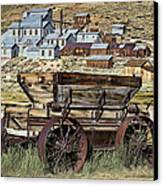 Bodie Wagon Canvas Print by Kelley King