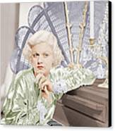 Bombshell, Jean Harlow, 1933 Canvas Print by Everett