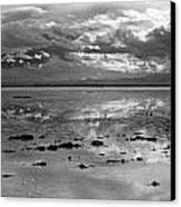 Bonneville Salt Flats Two Canvas Print by Isak Hanold