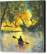 Bourbeuse River Sunrise Canvas Print by Garry McMichael