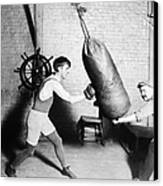 Boxing: Bat Nelson, 1920 Canvas Print by Granger