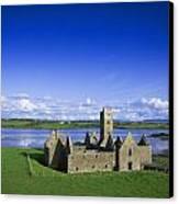 Boyle Abbey, Ballina, Co Mayo Canvas Print by The Irish Image Collection