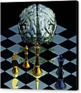 Brainpower Canvas Print by Laguna Design