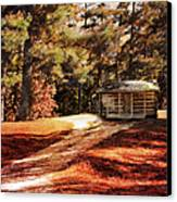 Brewer Cabin Canvas Print by Jai Johnson
