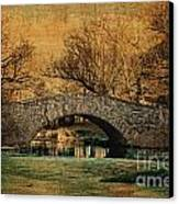 Bridge From The Past Canvas Print by Nishanth Gopinathan