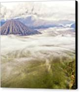 Bromo Volcano Crater Canvas Print by Photography by Daniel Frauchiger, Switzerland