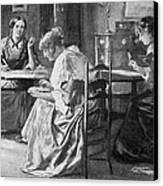 BrontË Sisters Canvas Print by Granger