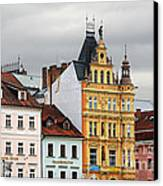 Budweis - Pearl Of Bohemia - Czech Republic Canvas Print by Christine Till