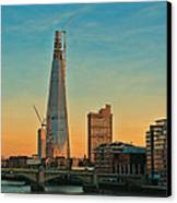 Building Shard Canvas Print by Jasna Buncic