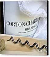 Burgundy Wine Canvas Print by Frank Tschakert