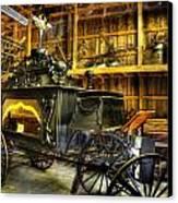 Burial Hearse Wagon Coach - Vintage - Nostalgia - Western - Antique  Canvas Print by Lee Dos Santos