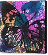 Butterfly Bliss Canvas Print by Oddball Art Co by Lizzy Love