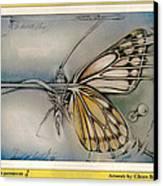 Butterflycomp 1991 B Canvas Print by Glenn Bautista