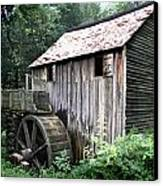 Cade's Grist Mill Canvas Print by Barry Jones
