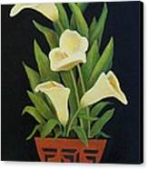 Calla Lilies Canvas Print by Jane Landry  Read