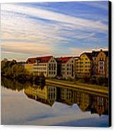 Calm As Glass Canvas Print by Anthony Citro