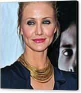 Cameron Diaz At Arrivals For The Box Canvas Print by Everett